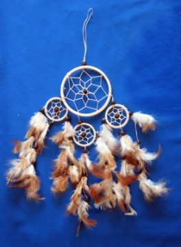 Dreamcatcher Vierfach klein