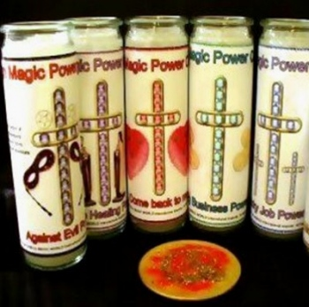 High Magic Glaskerze Miracle Healing Power