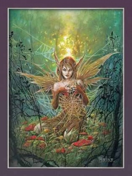 The Cobweb Fairy Poster